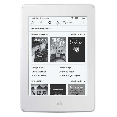 Kindle PaperWhite Gen 3 - 2018 (Màu Trắng Like New)